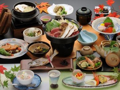 【松茸料理5品 「つつじ」プラン】