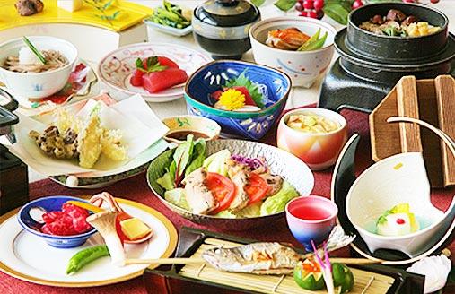 会席料理と美人の湯を満喫日帰り昼食プラン