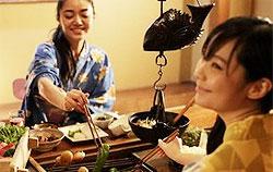 【囲炉裏料理 スタンダード】リニューアル記念!個室食事処でゆっくりお食事♪信州の食材を炭火で堪能